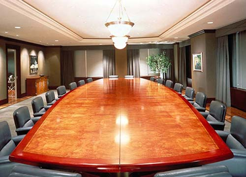 Conference Table Installation